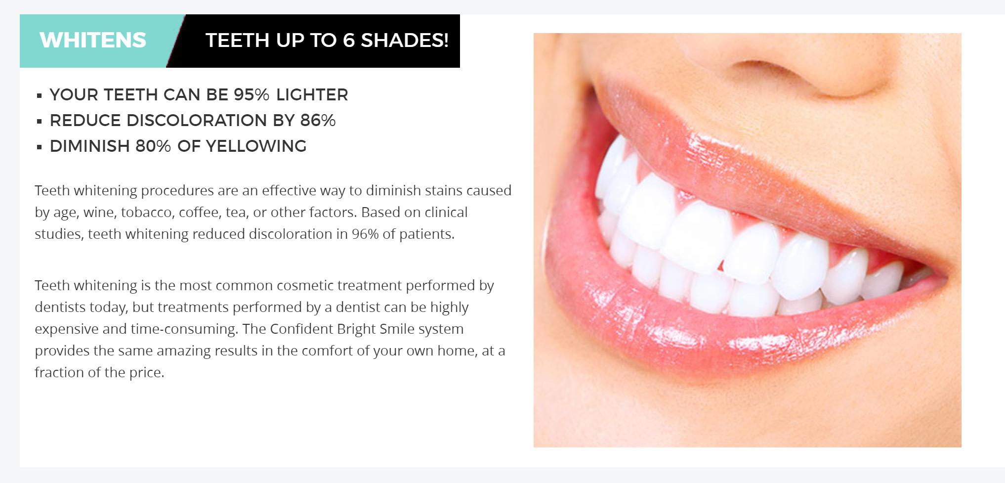 Confident Bright Smile buy