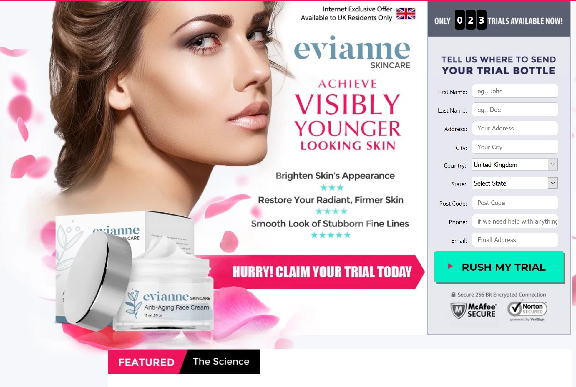 Evianne cream