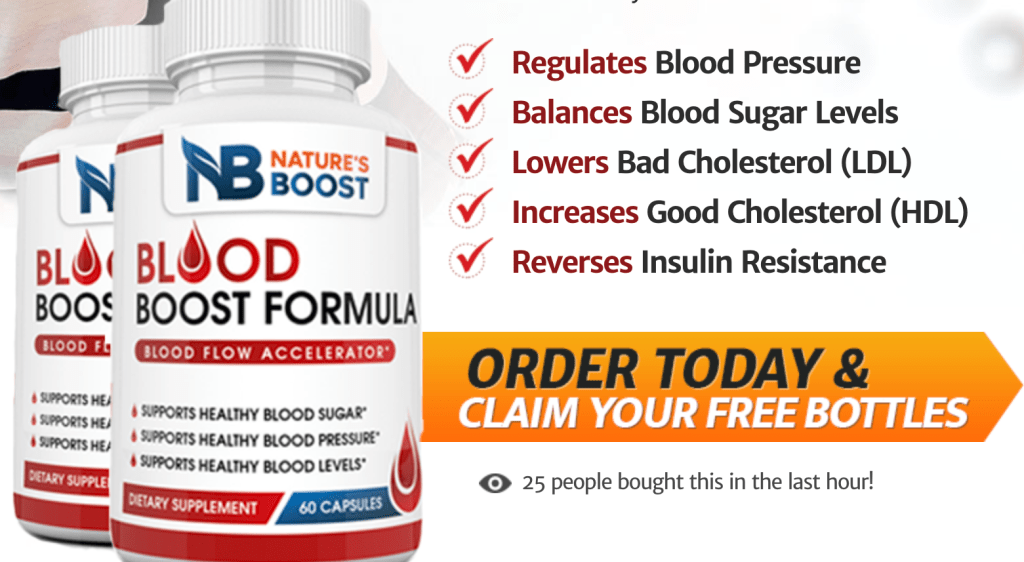 Blood Boost Formula order
