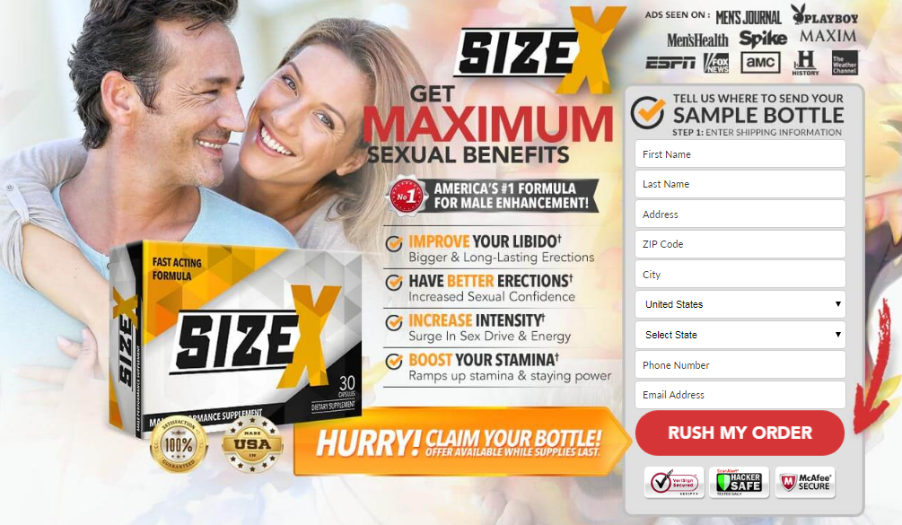 Size X Male Enhancement