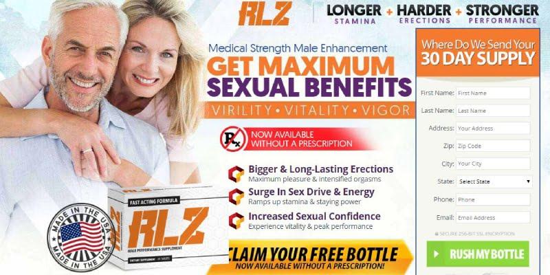 RLZ Male Enhancement order