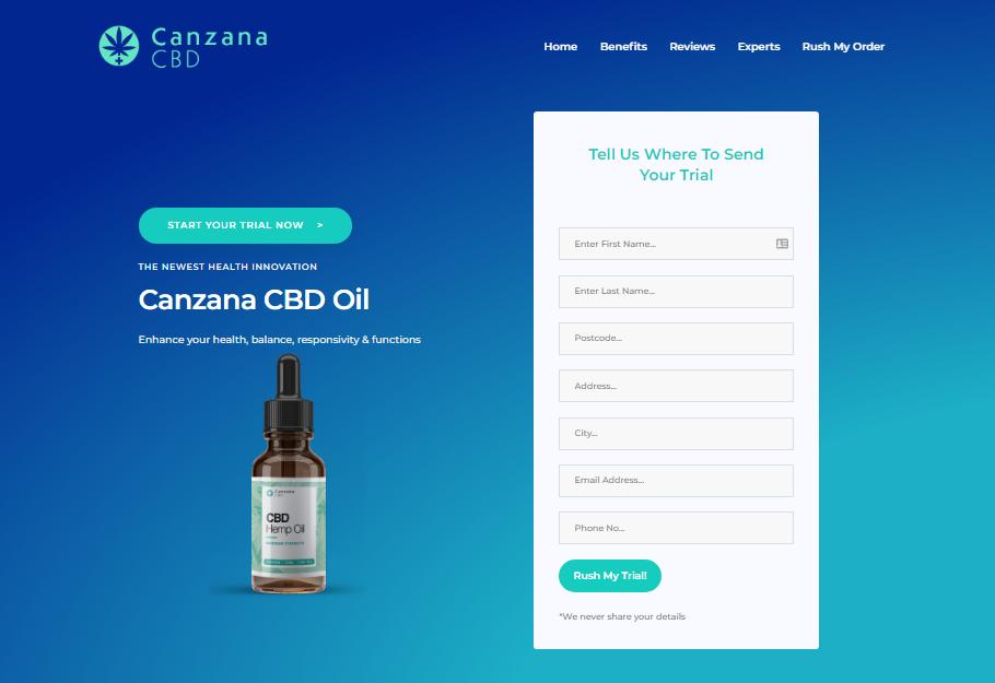 Canzana CBD oil