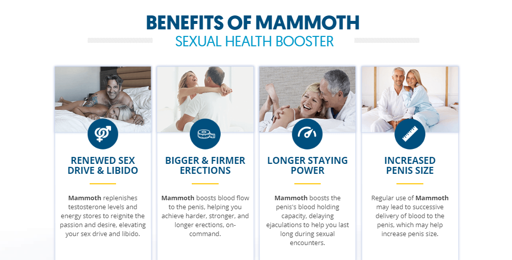 Mammoth Male Enhancement benefits