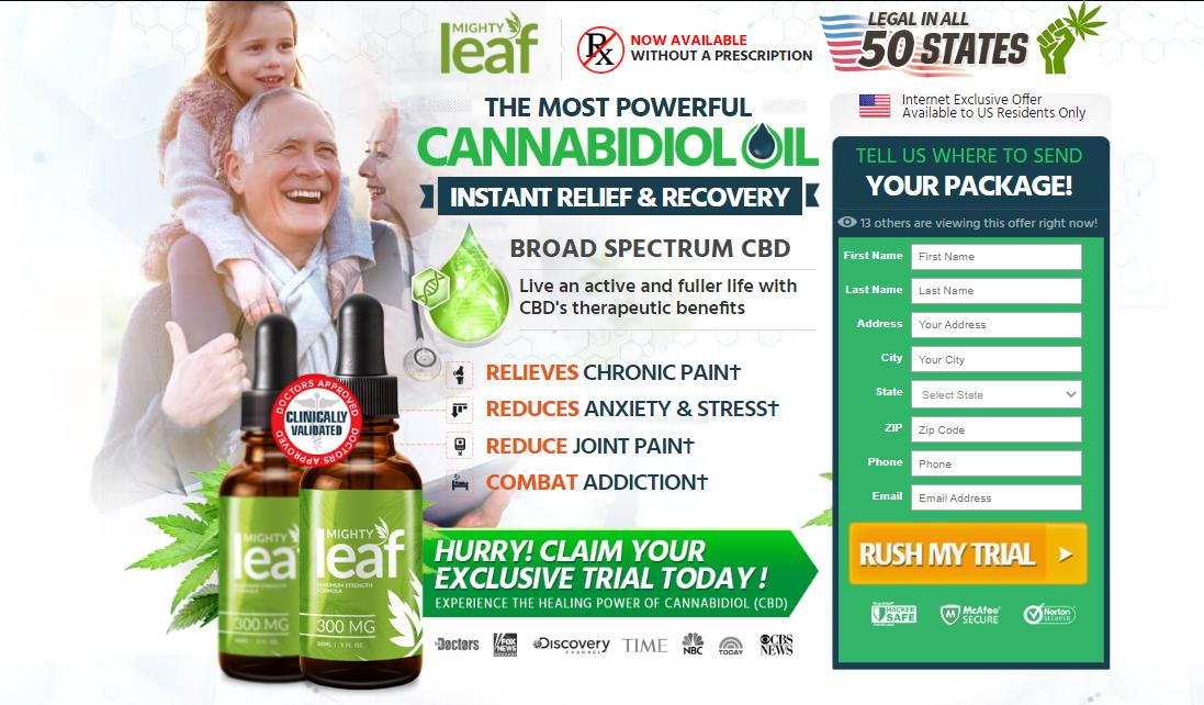 Mighty Leaf CBD Oil